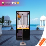 Black Network catch toys claw crane game machine for sale surport H5 APP WEB online grab gifts dolls game machine
